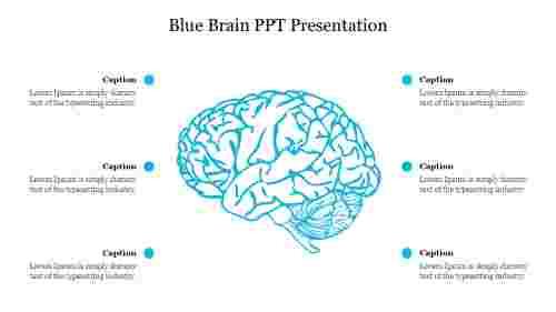 Creative%20Blue%20Brain%20PPT%20Presentation