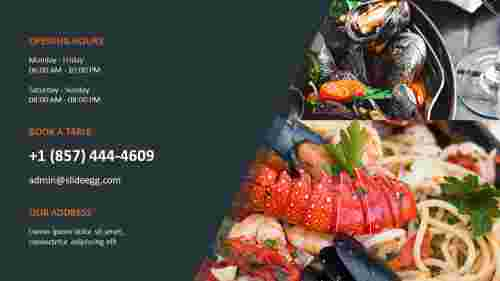 Contact%20Us%20PPT%20For%20Sea%20Food%20Presentation%20Slide