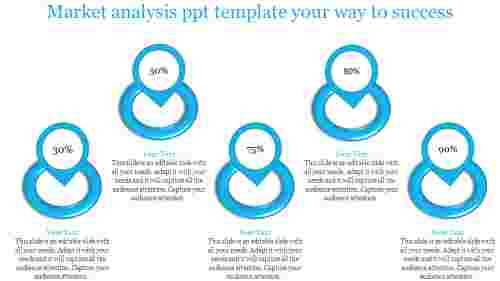 market analysis ppt template-Market analysis ppt template -your way to success