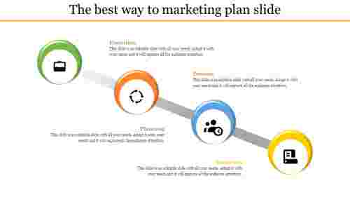 Marketing Proposal Power Point Template - Circle Model