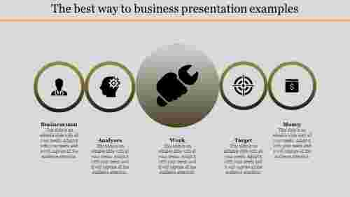 business presentation examples