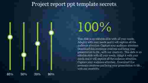 project report PPT template