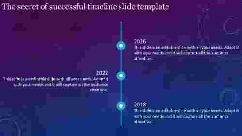 inspectable timeline slide template
