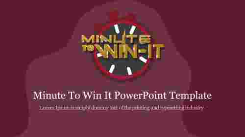 Attractive%20Minute%20To%20Win%20It%20PowerPoint%20Template