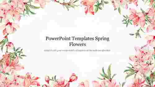 Attractive%20PowerPoint%20Templates%20Spring%20Flowers