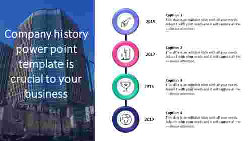 company history powerpoint template