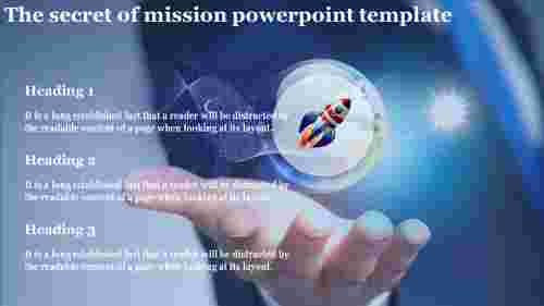 mission powerpoint template-The secret of mission powerpoint template