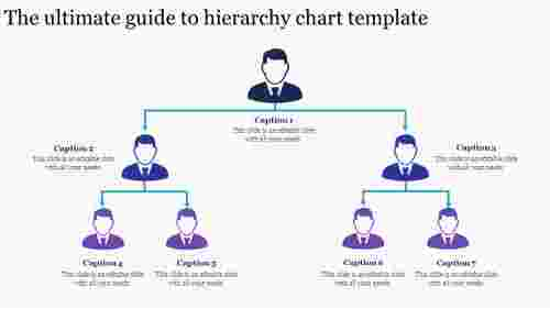 hierarchy chart template for employees