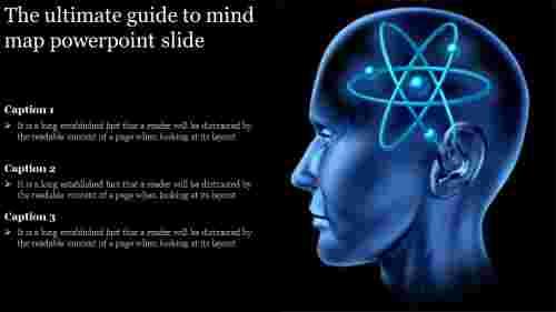 mind map powerpoint slide