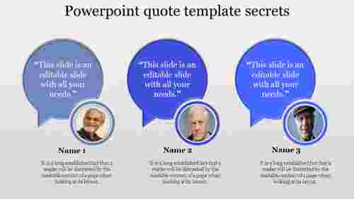 powerpoint quote template circle callout