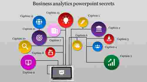 business analytics powerpoint-one to many model