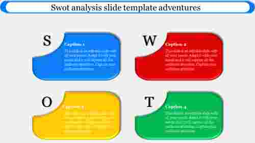 Colorful Swot Analysis Slide Template