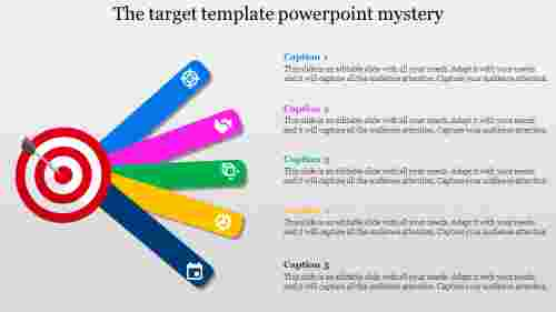 Target template powerpoint in Multiplexed Design