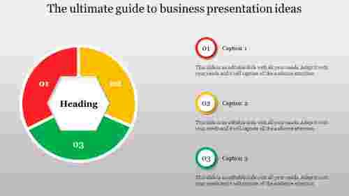 business presentation ideas