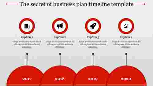 Simple Business Plan Timeline Template