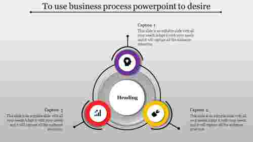 Creative simple business process powerpoint