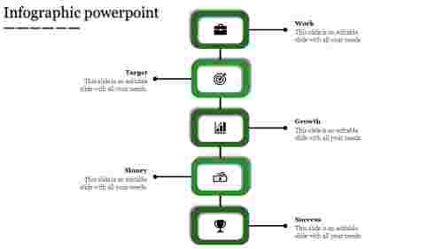 infographic powerpoint-Infographic powerpoint-5-Green