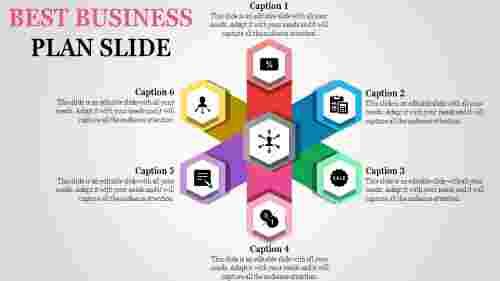 Marketing business plan slide