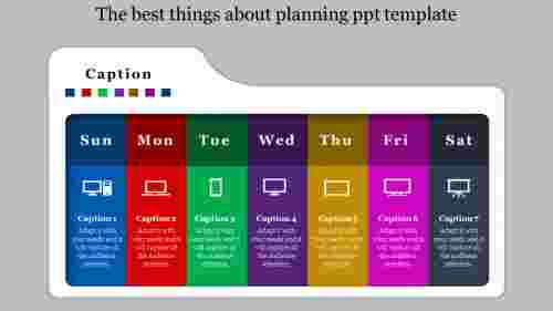 planning PPT template