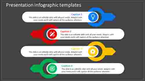 Simple Creative presentation infographic templates