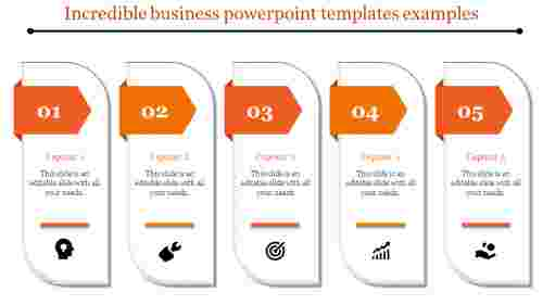 Infographic business powerpoint templates