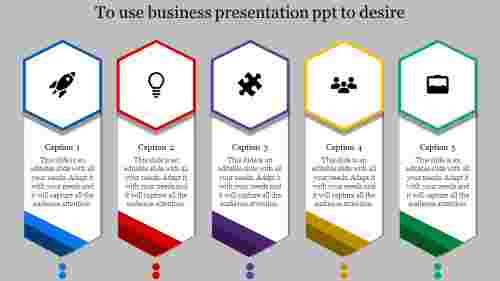 business presentation PPT