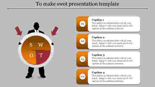 systematical SWOT presentation template