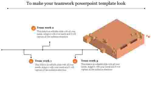 Building teamwork powerpoint template