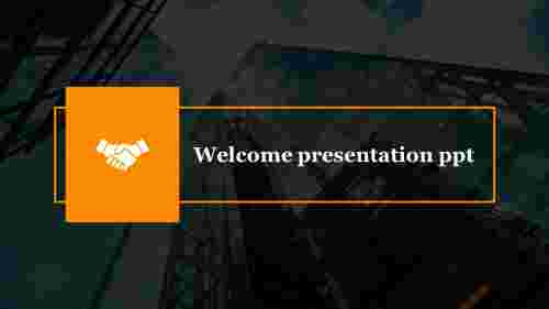 Amazing welcome presentation PPT