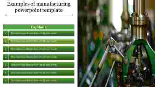 Techniques To Improve Manufacturing Powerpoint Template