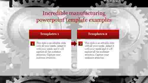 Editable Manufacturing Powerpoint Template