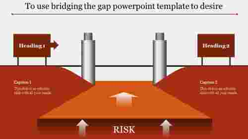 bridging the gap powerpoint template