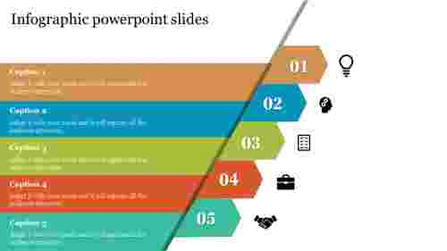 Arrow infographic powerpoint slides