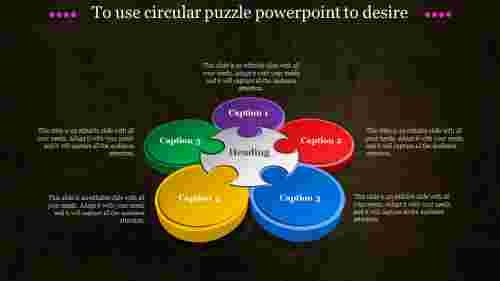 circular puzzle powerpoint-To use circular puzzle powerpoint to desire