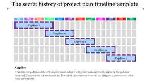 applied project plan timeline template