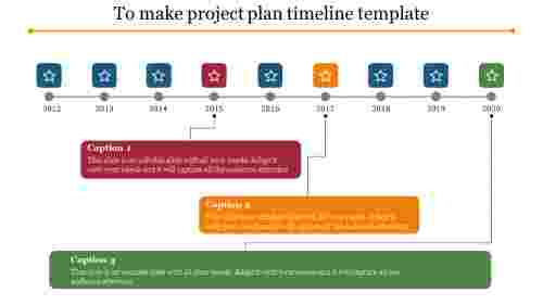inspectable project plan timeline template