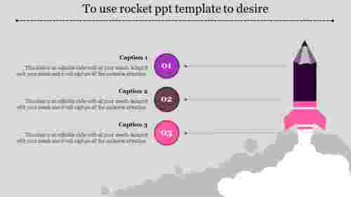rocket ppt template-To use rocket ppt template to desire