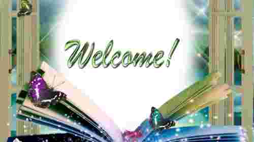 welcome presentation templates-welcome