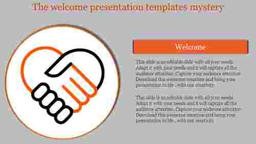 welcome presentation templates-The welcome presentation templates mystery