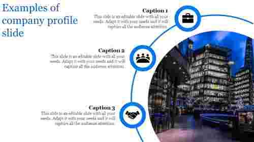 company profile slide