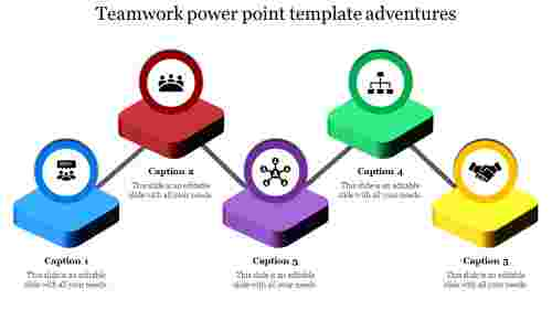 Processing teamwork powerpoint template