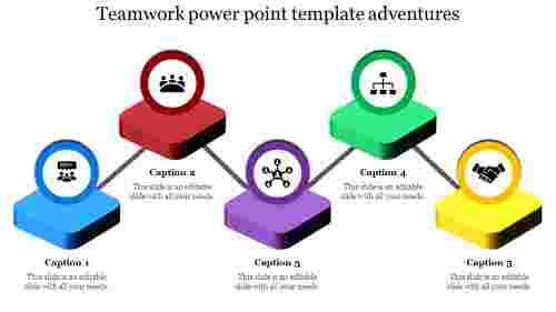 Processing teamwork powerpoint template