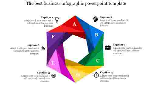 infographic powerpoint-The best business infographic powerpoint template