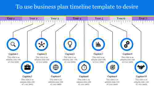 systematical business plan timeline template