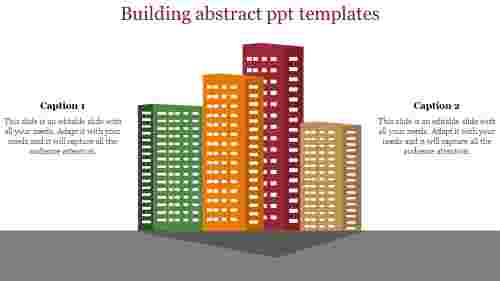 A two noded abstract PPT templates