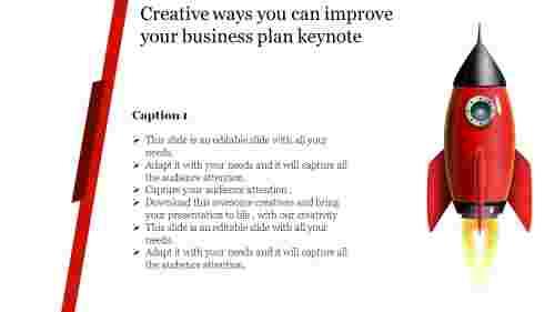 business plan keynote