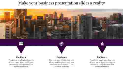 business presentation slides