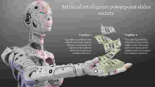 Artificial Intelligence Powerpoint Slide In Robotic