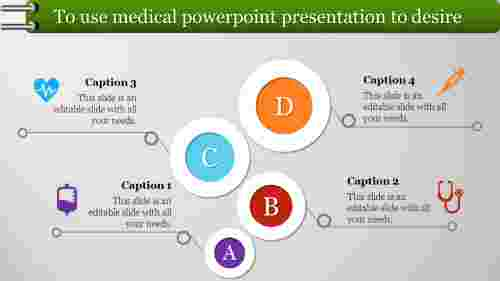 Four stages medical powerpoint presentation