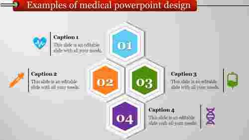 Hexagonal medical powerpoint design